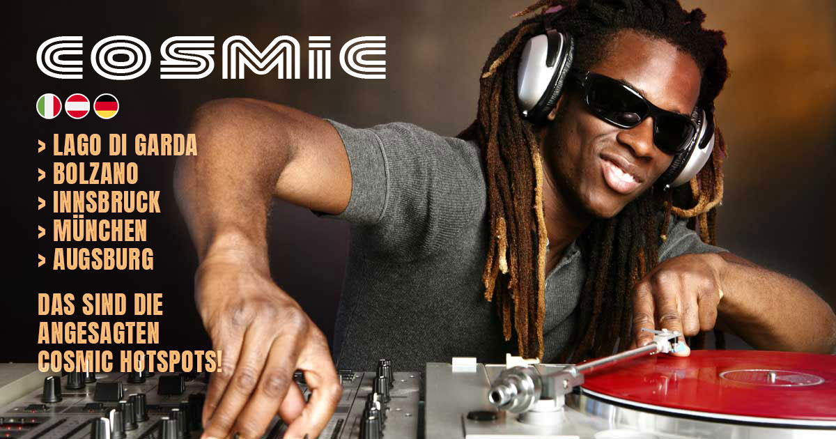 Cosmic in the MIX - TONEART Radio