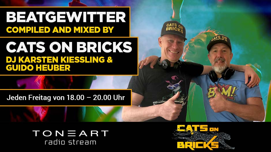DJ Karsten Kiessling - Beatgewitter- Cats on Bricks - TONEART Radio