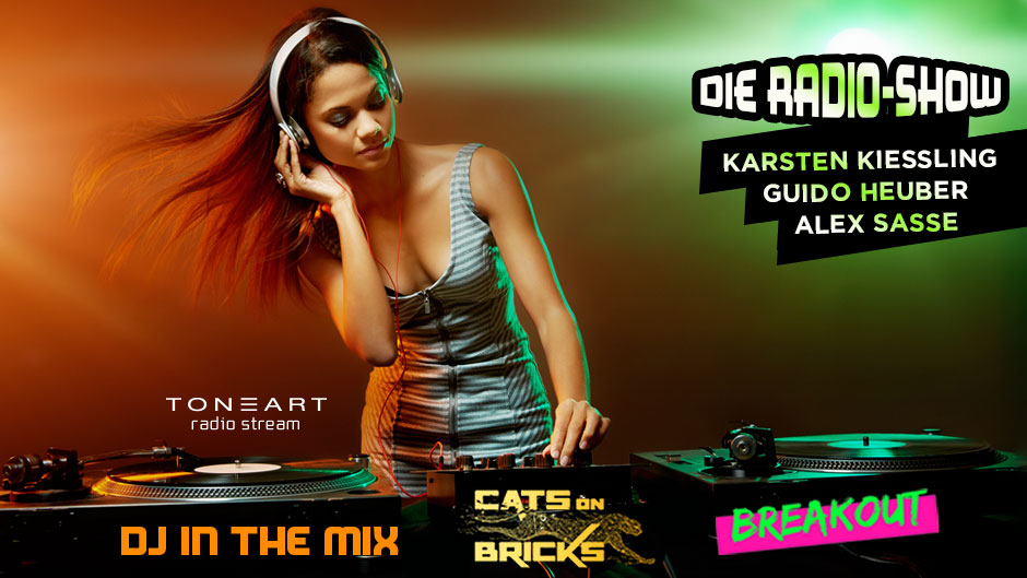 DJ in the Mix - Die Radio-Show - TONEART Radio