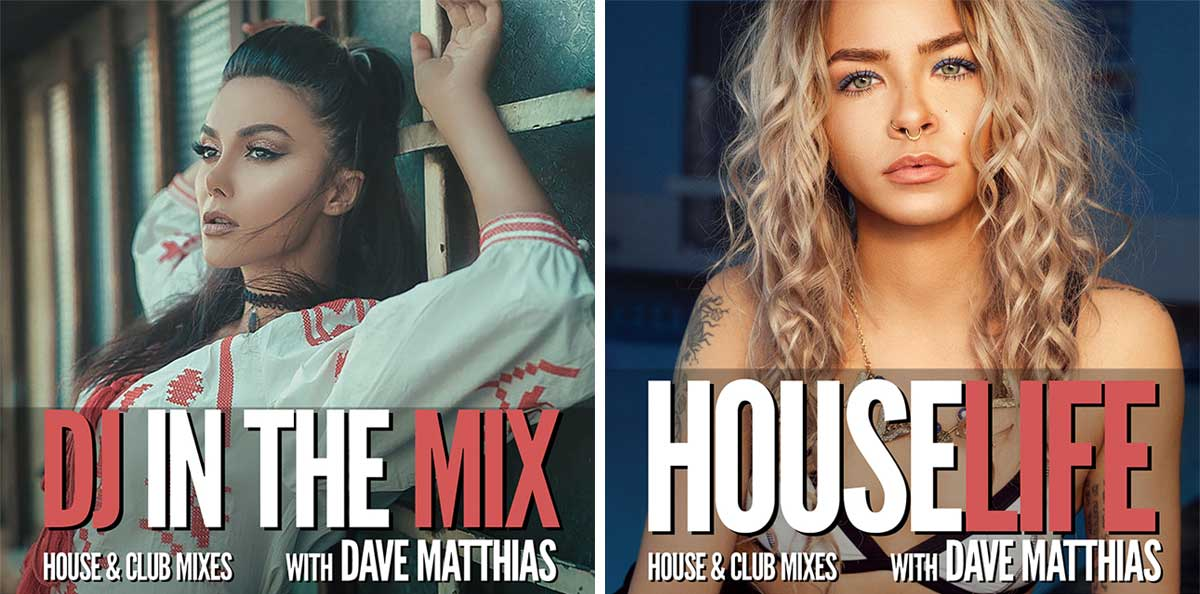 DJ in the MIX - HOUSE LIFE - Dave Matthias - TONEART Radio