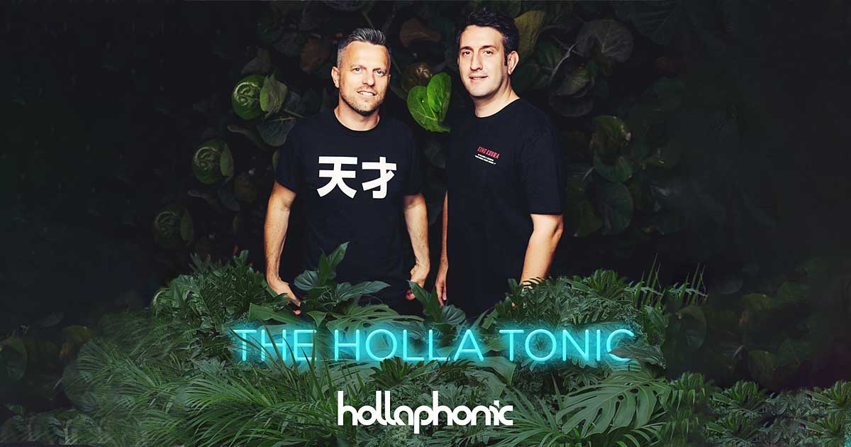 Hollaphonic – The Holla Tonic - Die Radio-Show - TONEART Radio